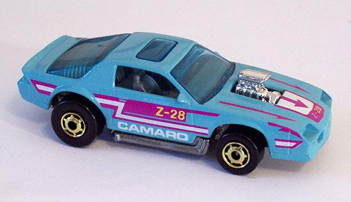 Hot Wheels Blown Camaro 1988