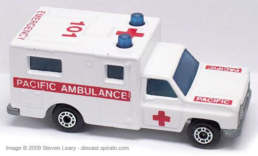 Ambulance Matchbox Car Matchbox Chevrolet Ambulance