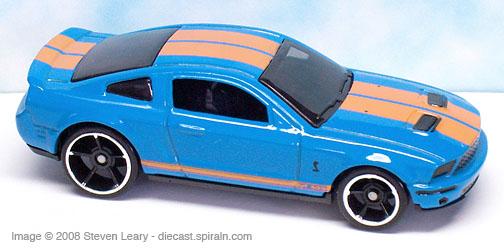 Hot Wheels '07 Shelby GT-500