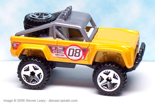 Hot Wheels Custom Ford Bronco