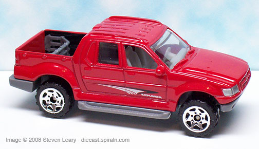 Matchbox Ford Explorer Sport Trac