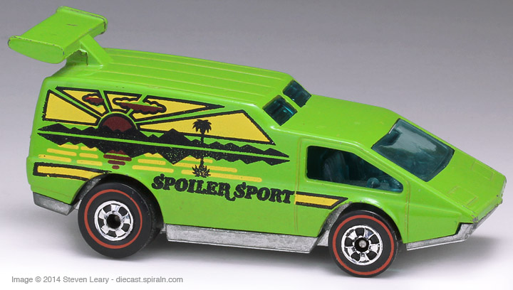 Hot Wheels Spoiler Sport Happy Wheels