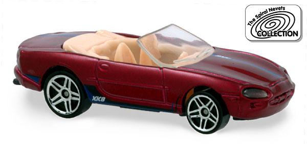 Hot wheels jaguar xk8 2001