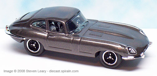 Jaguar E Type >> Matchbox 1961 Jaguar E-Type Coupe