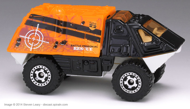 Matchbox Armored Police Truck