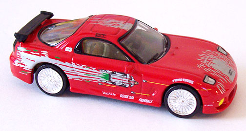 1993 mazda rx7 fast and furious. racing champions 1993 mazda rx7 2002 the fast and furious series 1 rx7