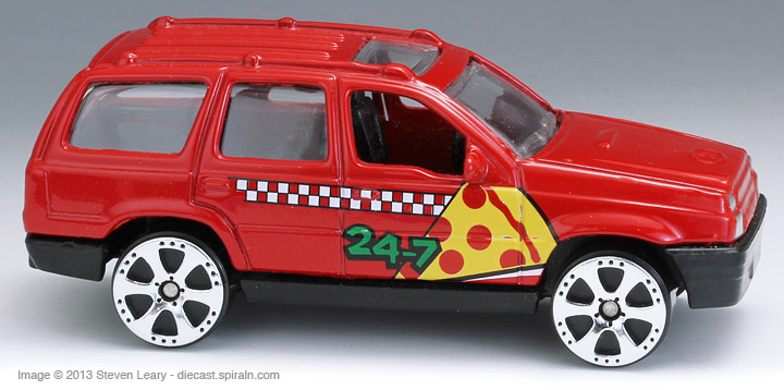 Pizza Delivery Vehicles