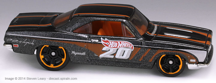 Hot Wheels 68 Plymouth Barracuda Formula S