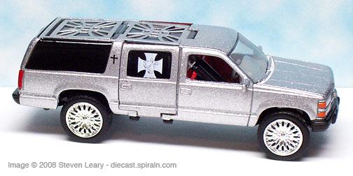 1994 Chevrolet Suburban Muscle Machines Wedding On Wheels 2004